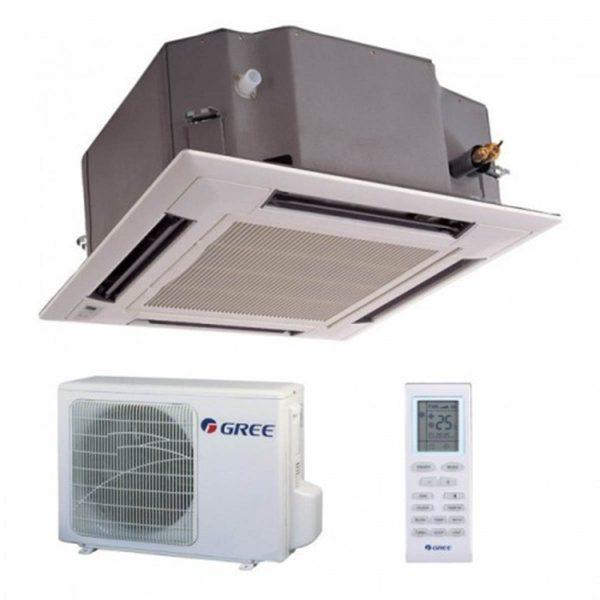 Aparat de Aer conditionat tip caseta Gree GKH12K3FI-GUHD12NK3FO Inverter 12000 BTU 2