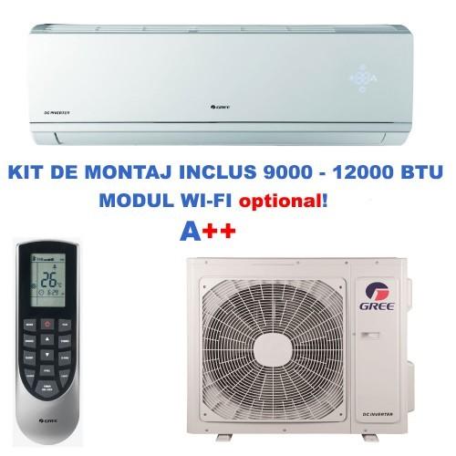 Aer conditionat Gree Lomo GWH09QB-K3DNB8C Inverter 9000 BTU 1