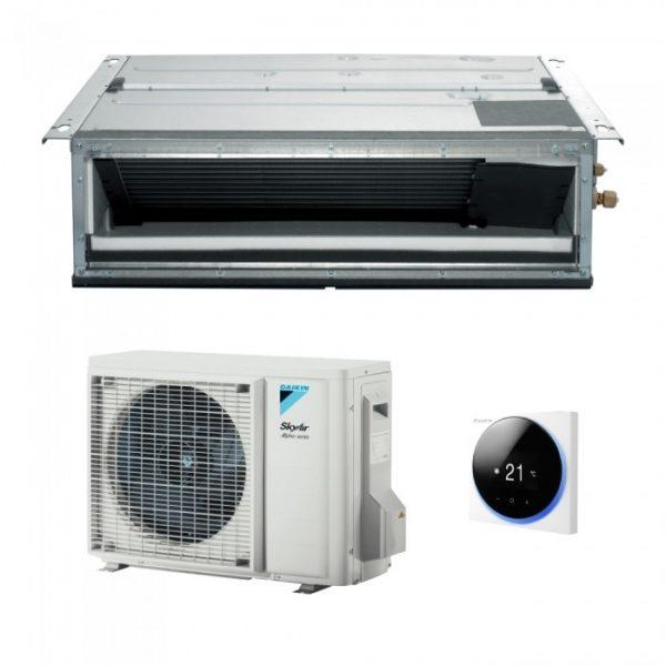 Aparat de aer conditinat tip duct Dakin SkyAir Alpha-series FDXM+RZAG Inverter,R23, Clasa  A+, 1
