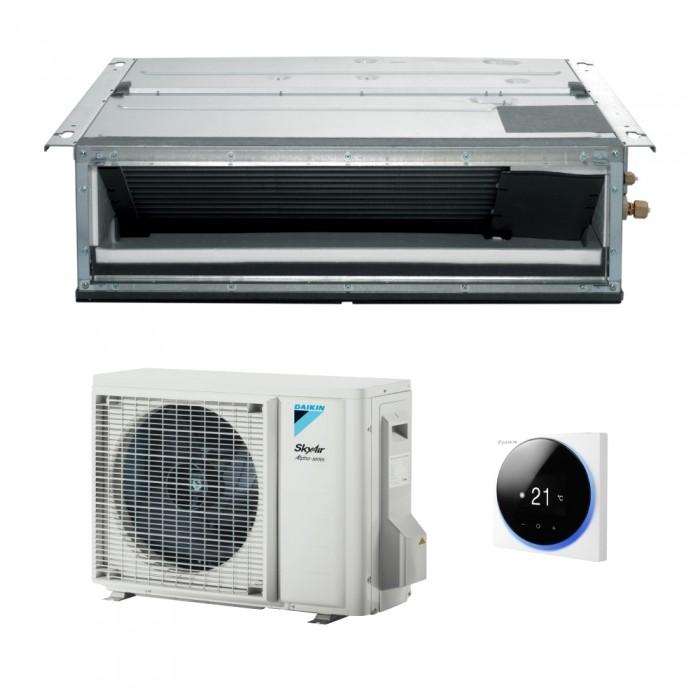 Aparat de aer conditinat tip duct Dakin SkyAir Alpha-series FDXM+RZAG Inverter,R23, Clasa  A+, 48