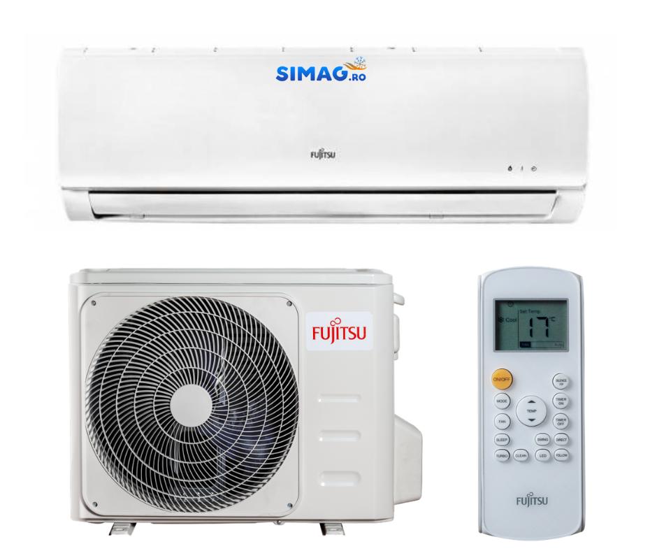 Aparat de Aer Conditionat Fujitsu ASYA09KLWA-AOYA09KLWA Inverter, R32, 9000 BTU 45