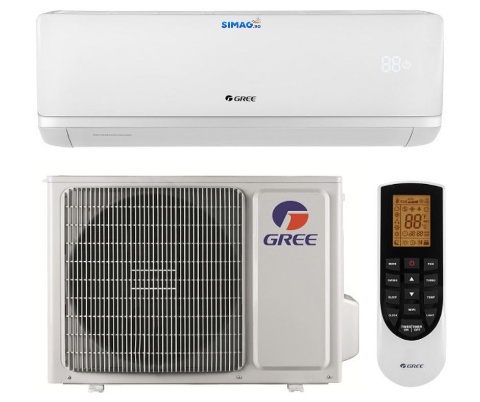 Aparat de aer conditionat ti[p split Gree Bora A2 WHITE , Inverter, clasa A++, R-32, WiFi 36