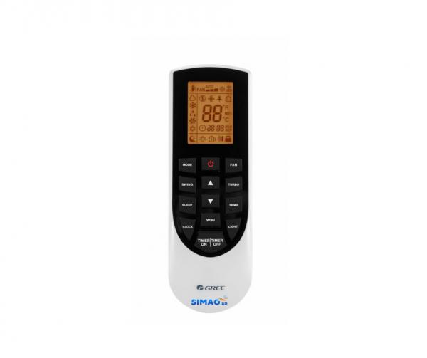 Aparat de aer conditionat tip split Gree Bora A4 SILVER Inverter, R32, Wifi, A++, Kit de instalare inclus 4