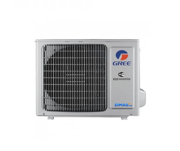 Aparat de aer conditionat tip split Gree Bora A4 SILVER Inverter, R32, Wifi, A++, Kit de instalare inclus 3