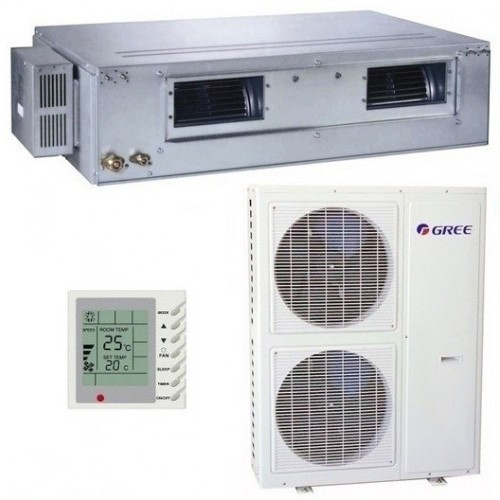 Aparat de Aer Conditionat tip duct Gree - GFH48K3B1I-GUHN48NM3A1O ON-OFF 48.000 BTU 1