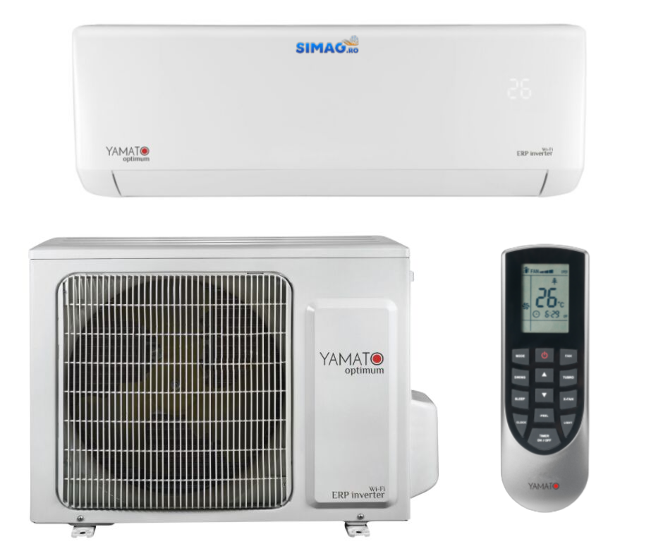Aparat de aer conditionat Yamato Optimum YW24IG6 Inverter 24.000 BTU, WiFi, A++ 34