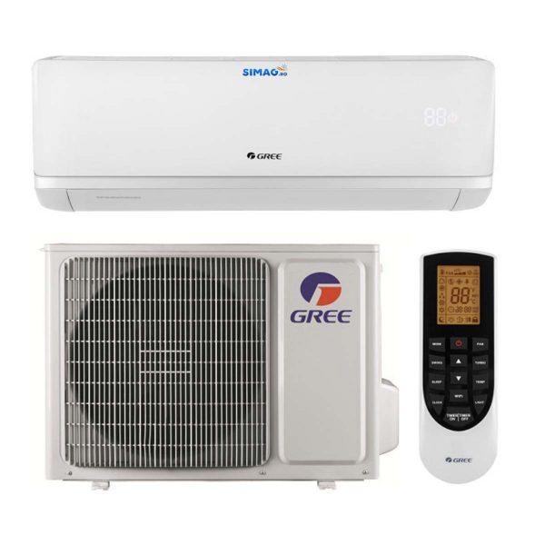 Aparat de aer conditionat tip split Gree Bora A2 WHITE, Inverter, clasa A++, R-32, WiFi 2