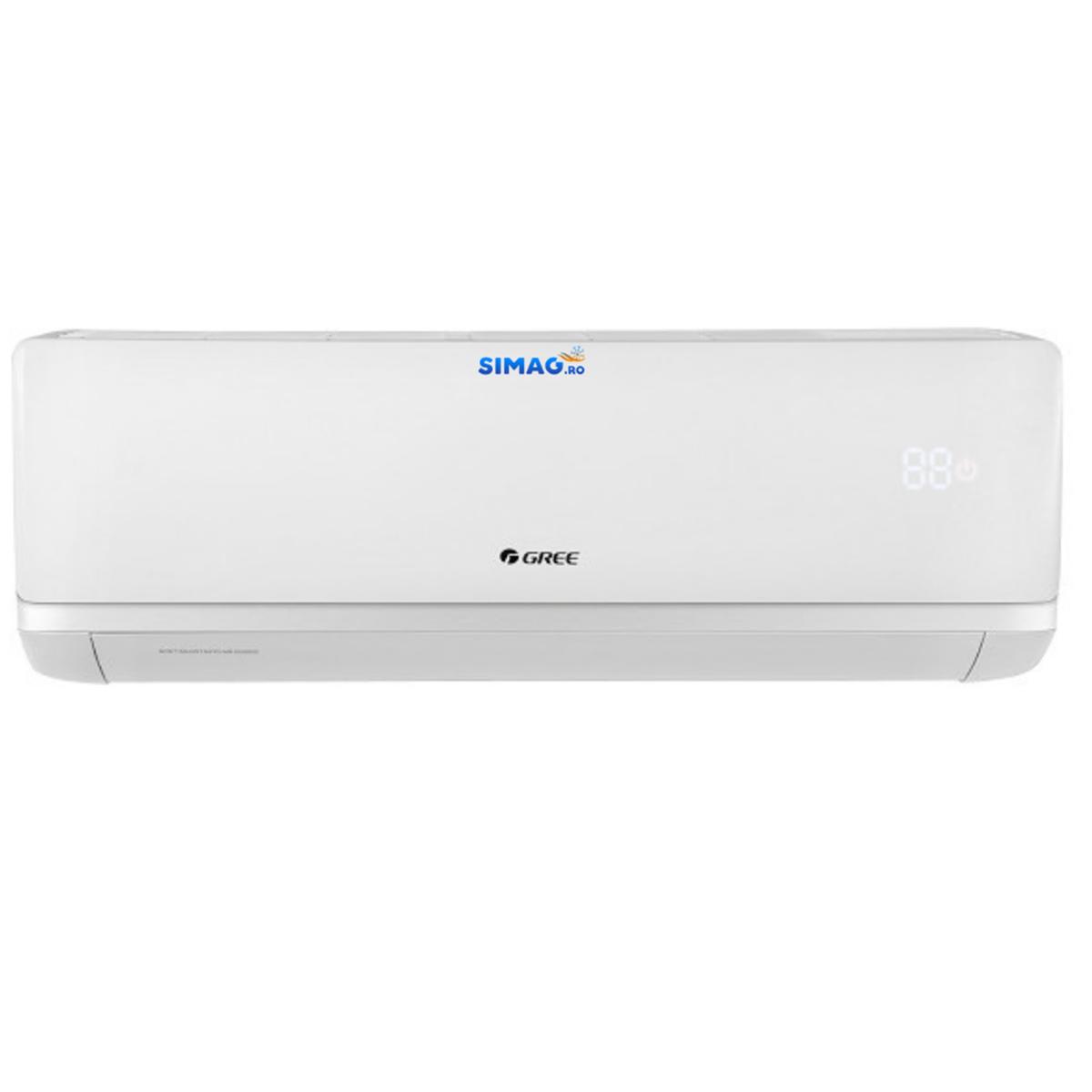 Aparat de aer conditionat tip split Gree Bora A2 WHITE, Inverter, clasa A++, R-32, WiFi 17