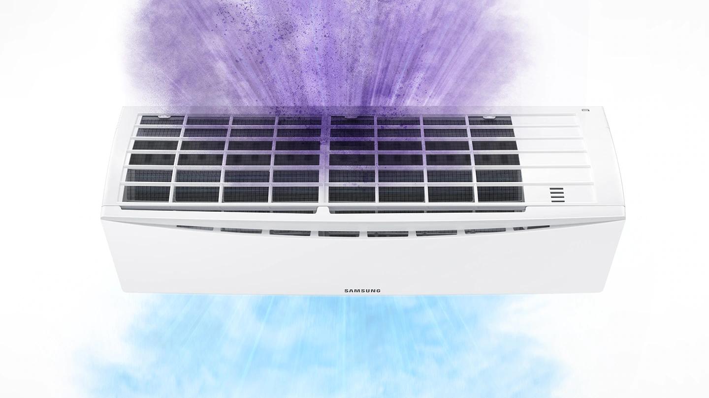 Aparat de aer conditionat tip split Samsung Galaxy Air, Racire Rapida, Filtru Hd, Clasa A++, R32 20