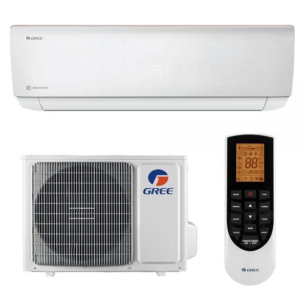 Aparat de aer conditionat tip split Gree Bora A4 SILVER Inverter, R32, Wifi, A++, Kit de instalare inclus 2