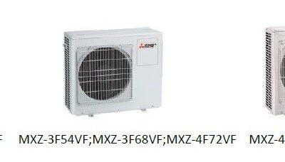 Unitate externa multi split Mitsubishi Electric MXZ-F, Inverter, R32,A+++ 5